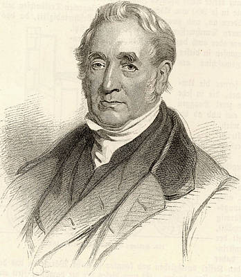 George Stephenson Poster by Universal History Archive/uig