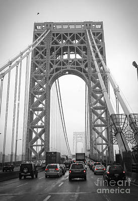 George Washington Bridge Poster by Andrea Anderegg