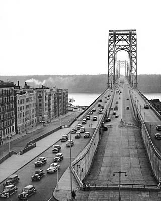 George Washington Bridge, Ny Poster by Underwood Archives