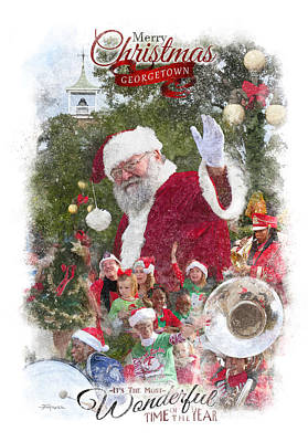 Georgetown Christmas Poster