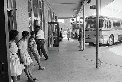 Georgia Bus Station, 1962 Poster