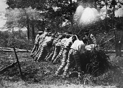 Georgia Chain Gang, 1892 Poster