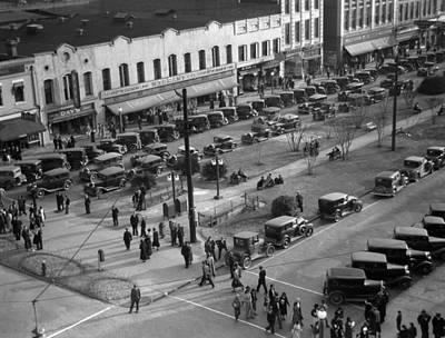Georgia Main Street, 1936 Poster