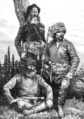 Georgian Warriors Poster