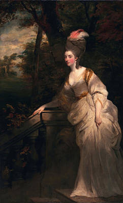 Georgiana Cavendish, Duchess Poster by Sir Joshua Reynolds