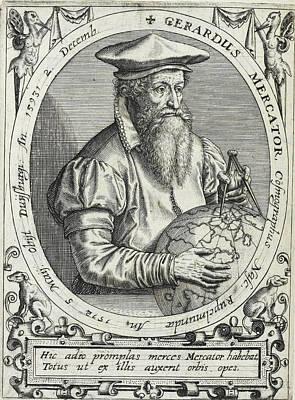 Geradus Mercator Poster by British Library