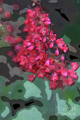 Geranium Abstract Poster by Christiane Schulze Art And Photography