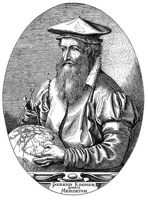 Gerardus Mercator Poster by Bildagentur-online/tschanz