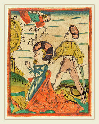 German 15th Century, Beheading Of Saint Catherine Poster by Litz Collection