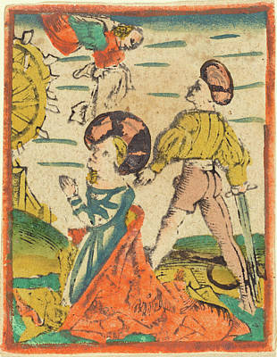 German 15th Century, Beheading Of Saint Catherine Poster by Quint Lox