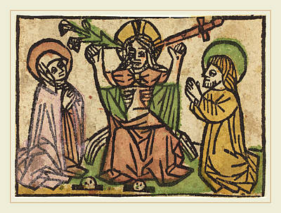 German 15th Century, Last Judgment Poster