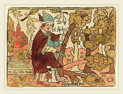 German 15th Century, Saint Alto Poster