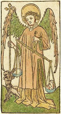 German 15th Century, Saint Michael Poster