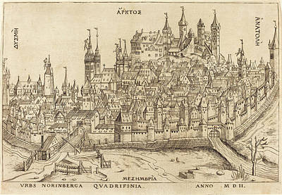 German 16th Century, Nuremberg, 1502 Poster by Quint Lox