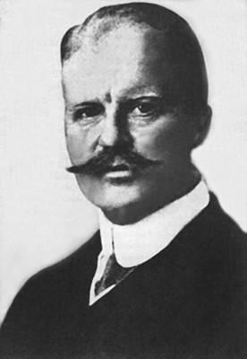 German Arthur Zimmermann Poster by Underwood Archives