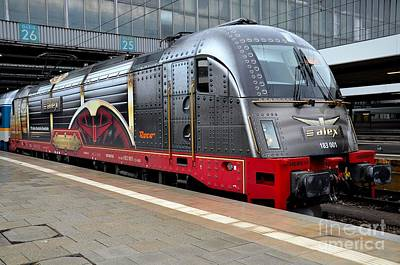 German Electric Train Munich Germany Poster by Imran Ahmed