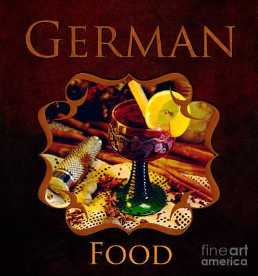 German Food Gallery Poster
