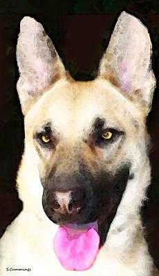 German Shepherd - Lover Poster