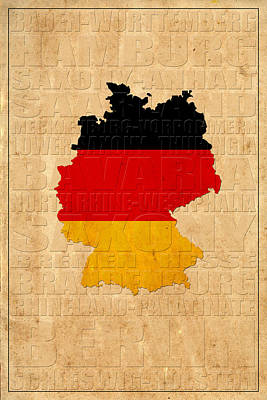 Germany Poster by Andrew Fare
