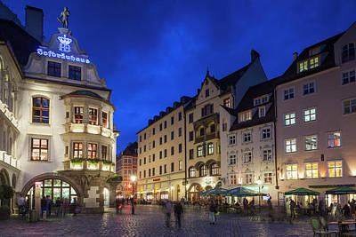 Germany, Bavaria, Munich, Hofbrauhaus Poster