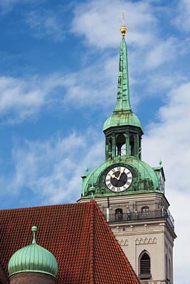Germany, Bavaria, Munich, Peterskirche Poster