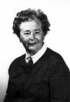 Gertrude Elion Poster by National Cancer Institute