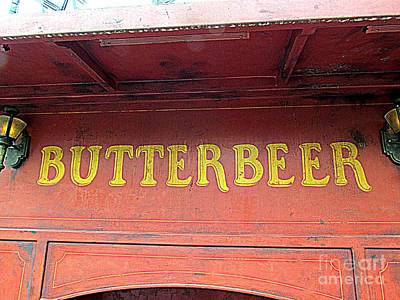 Get Your Butterbeer Poster by Elizabeth Dow