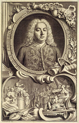 G.f. Handel Poster by British Library