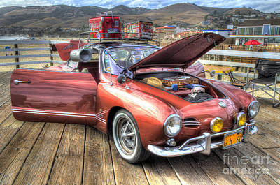Ghia On Vacation Poster