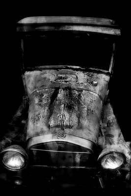 Vintage Cars Poster featuring the photograph Ghost Of 1929 by Aaron Berg