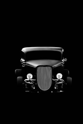 Hot Rod Poster featuring the photograph Ghost Of '36 by Aaron Berg