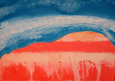Ghost Ranch Original Painting Poster by Sol Luckman