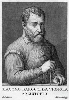 Giacomo Barozzi Da Vignola (1507-1573) Poster by Granger