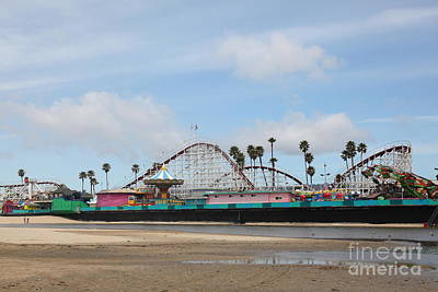 Giant Dipper At The Santa Cruz Beach Boardwalk California 5d23709 Poster