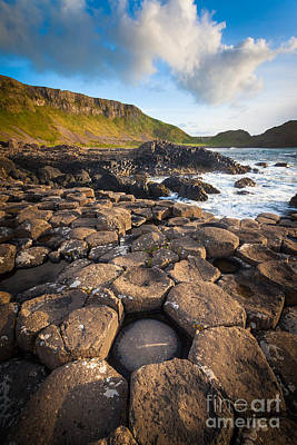 Giant's Causeway Circle Of Stones Poster by Inge Johnsson