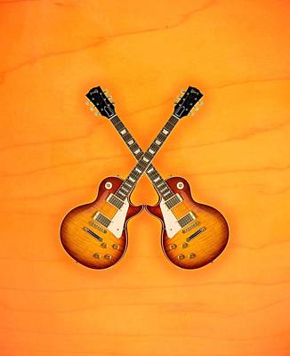 Gibson Les Paul Standard   Poster by Doron Mafdoos
