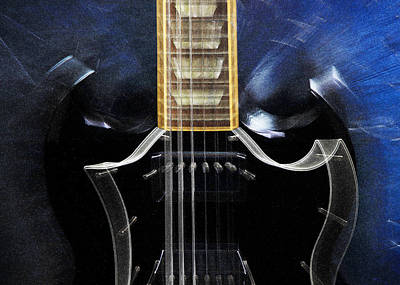 Gibson Sg Standard Zoom Poster by John Cardamone