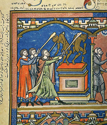 Gideon & Baal Altar Poster
