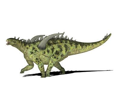 Gigantspinosaurus Dinosaur Poster