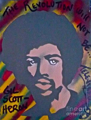 Gil Scott-heron 2 Poster by Tony B Conscious
