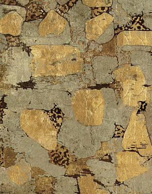 Gilded Stone Gold I Poster