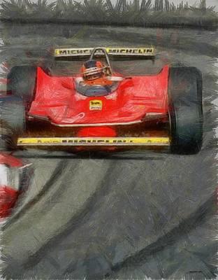 Gilles Drift Poster