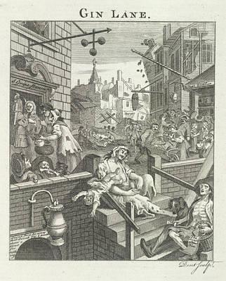 Gin Lane Poster