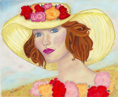 Poster featuring the painting Ginger by Arlene Crafton