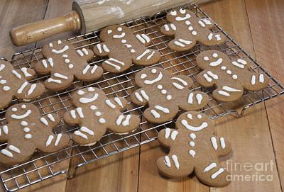 Gingerbread Man Cookies Poster