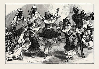 Gipsy-boy Dancers Poster by English School