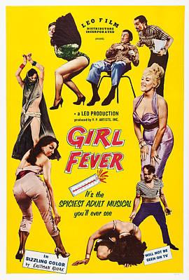 Girl Fever, Poster Art, 1960 Poster
