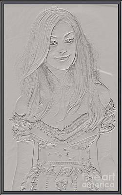 girl  Gi1 Poster by Pemaro