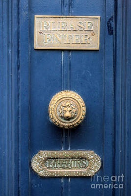 Girl Guide Door Poster