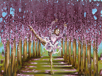 Blossom Poster by Karina Llergo